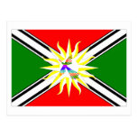 Bandera de Santo Domingo Tarjetas Postales