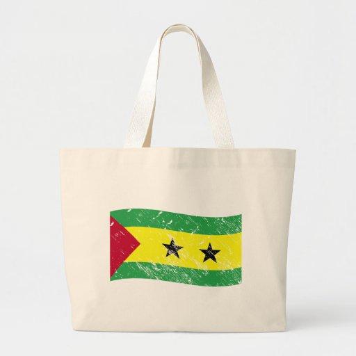 Bandera de Sao Tome and Principe Bolsa Tela Grande