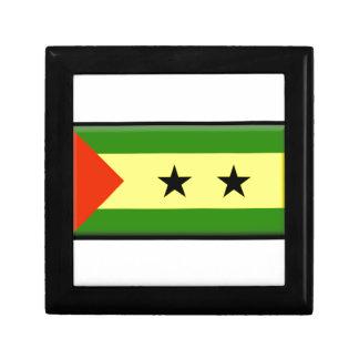 Bandera de Sao Tome Principe Cajas De Joyas