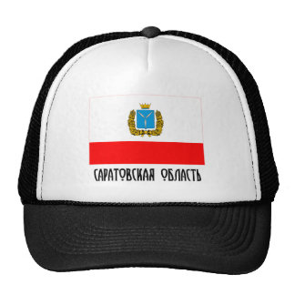 Bandera de Saratov Oblast Gorras De Camionero