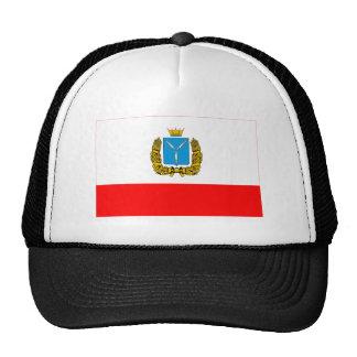Bandera de Saratov Oblast Gorros Bordados