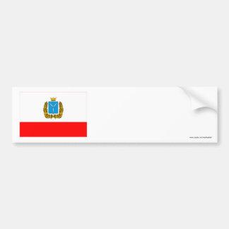 Bandera de Saratov Oblast Pegatina Para Auto