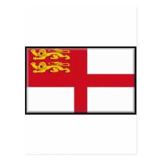 Bandera de Sark Postales