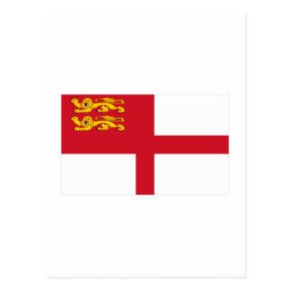 Bandera de Sark Postal