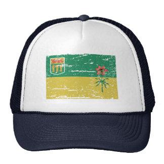 Bandera de SASKATCHEWAN del vintage Gorro De Camionero