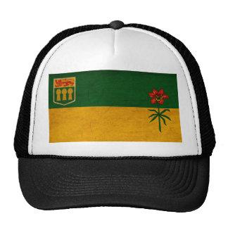 Bandera de Saskatchewan Gorras De Camionero