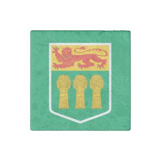 Bandera de SASKATCHEWAN Imán De Piedra