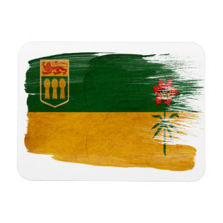 Bandera de Saskatchewan Imán Flexible