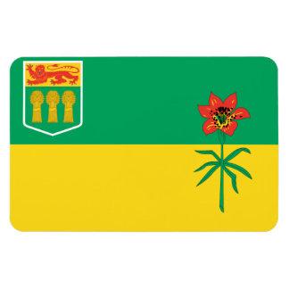 Bandera de SASKATCHEWAN Iman Flexible