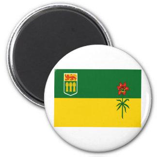 Bandera de Saskatchewan Imán Redondo 5 Cm