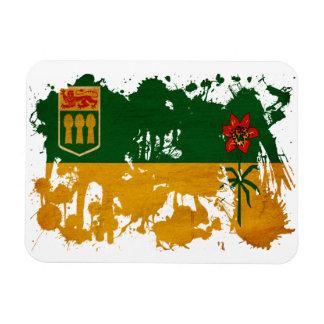 Bandera de Saskatchewan Imanes Flexibles