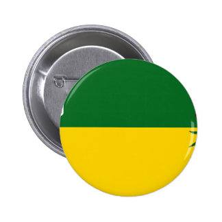Bandera de Saskatchewan Pin Redondo De 2 Pulgadas