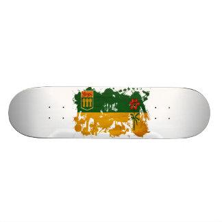 Bandera de Saskatchewan Skate Board