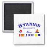 Bandera de señal de Hyannis Iman De Nevera