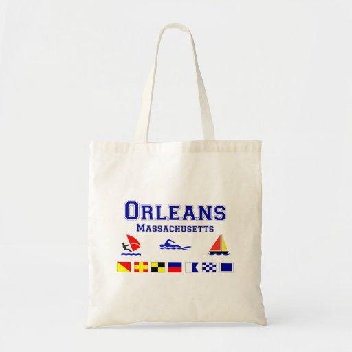 Bandera de señal de Orleans mA Bolsa Tela Barata