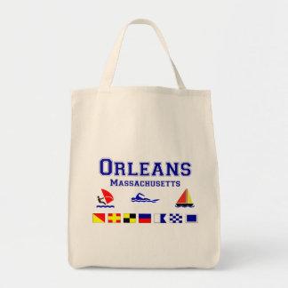 Bandera de señal de Orleans mA Bolsas