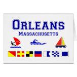 Bandera de señal de Orleans mA Felicitaciones