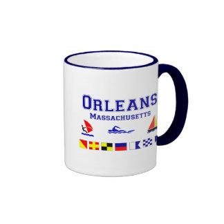 Bandera de señal de Orleans mA Taza