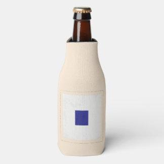 """Bandera de señal náutica de la letra """"S"""" Enfriador De Botellas"""