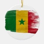 Bandera de Senegal Adorno