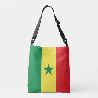 Bandera de Senegal Bolsa Cruzada
