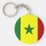 Bandera de Senegal Llavero Personalizado