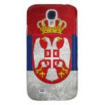 Bandera de Serbia Funda Para Galaxy S4