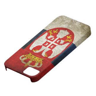 Bandera de Serbia Funda Para iPhone 5 Barely There