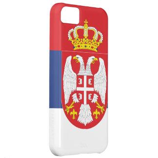 Bandera de Serbia Funda Para iPhone 5C
