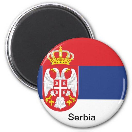 Bandera de Serbia Iman De Nevera