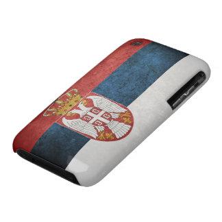 Bandera de Serbia iPhone 3 Case-Mate Funda