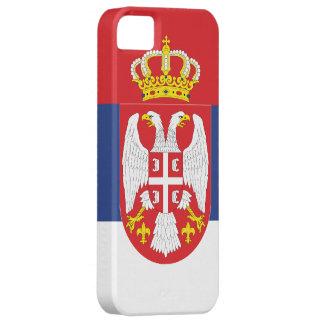 Bandera de Serbia iPhone 5 Carcasa