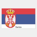 Bandera de Serbia Pegatinas
