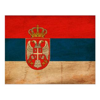 Bandera de Serbia Postal