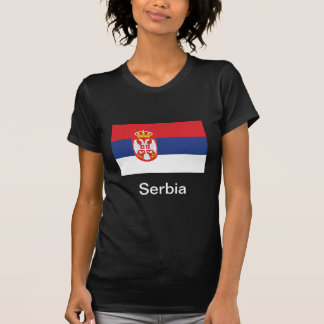 Bandera de Serbia Remeras