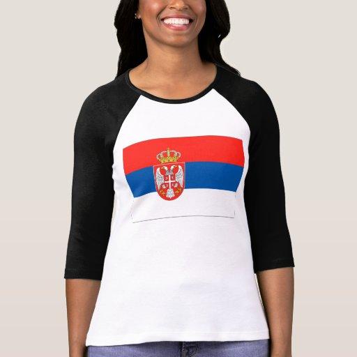Bandera de Serbia T-shirt