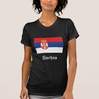 Bandera de Serbia Tshirt