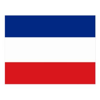 Bandera de Serbia y de Montenegro Postal