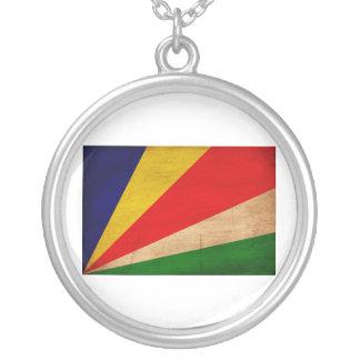 Bandera de Seychelles Colgante Redondo