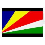Bandera de Seychelles Felicitación