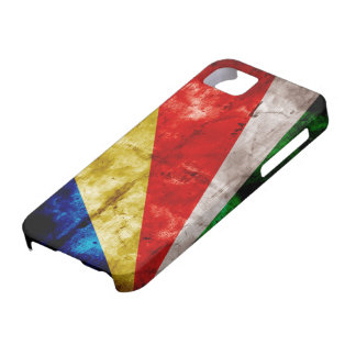 Bandera de Seychelles iPhone 5 Carcasa
