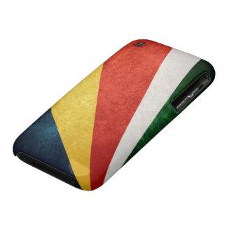 Bandera de Seychelles Case-Mate iPhone 3 Cárcasa