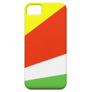 Bandera de Seychelles iPhone 5 Case-Mate Carcasas