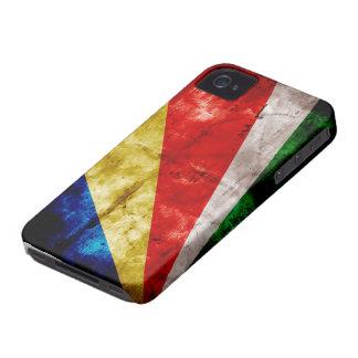 Bandera de Seychelles iPhone 4 Case-Mate Coberturas