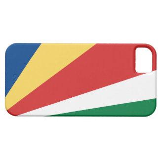 Bandera de Seychelles iPhone 5 Protector