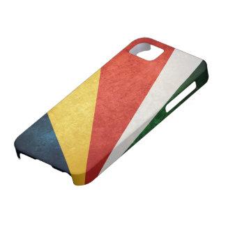 Bandera de Seychelles iPhone 5 Case-Mate Protector