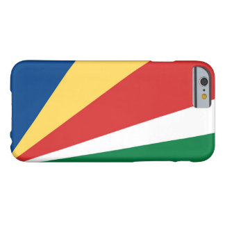 Bandera de Seychelles Funda Barely There iPhone 6