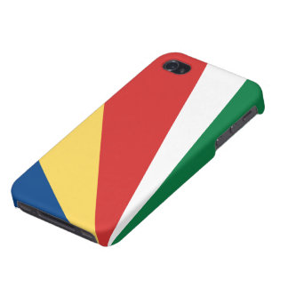 Bandera de Seychelles iPhone 4 Carcasa