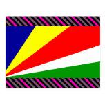Bandera de Seychelles Postales