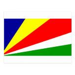 Bandera de Seychelles Tarjeta Postal